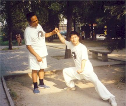 Tai Chi lessons Chen Zhonghua and Feng Zhiqiang